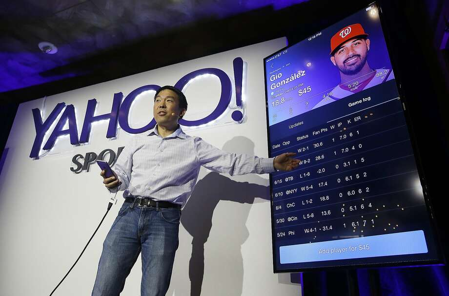 Experts say Yahoo could now rise to the top of the field because the Sunnyvale company has a long-established brand name and already dominates the overall fantasy sports market. Photo: Eric Risberg, Associated Press