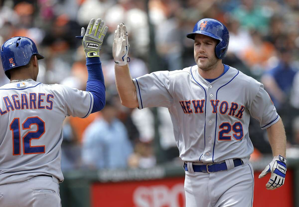 Norwich native Eric Campbell made his Major League debut with the New York Mets in 2014. He began 2016 on the Mets' Opening Day roster.