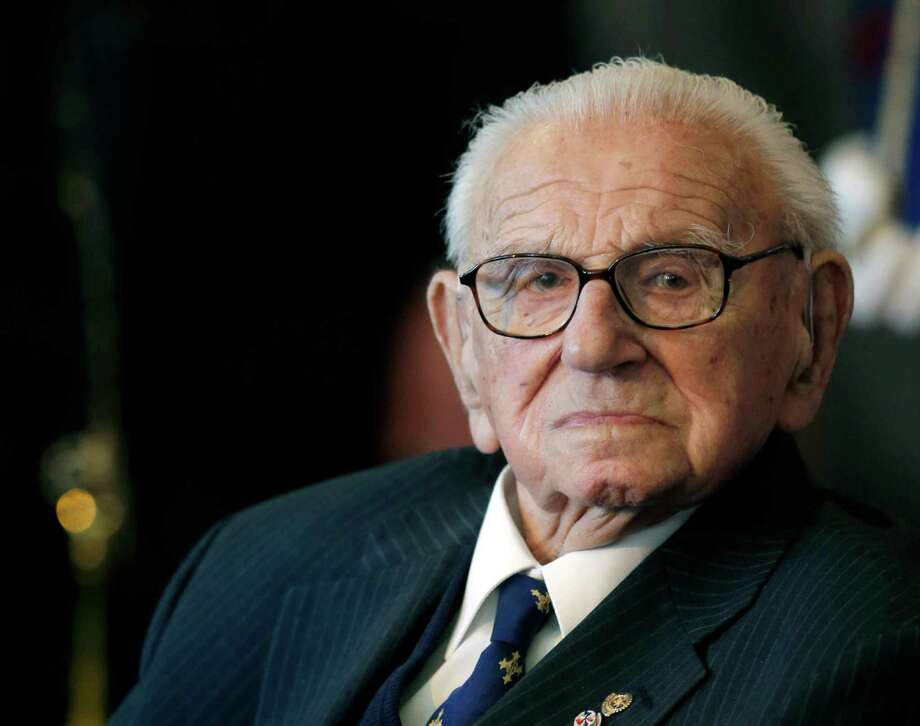 Nicholas Winton  (AP Photo/Petr David Josek, FILE) Photo: Petr David Josek, STF / AP