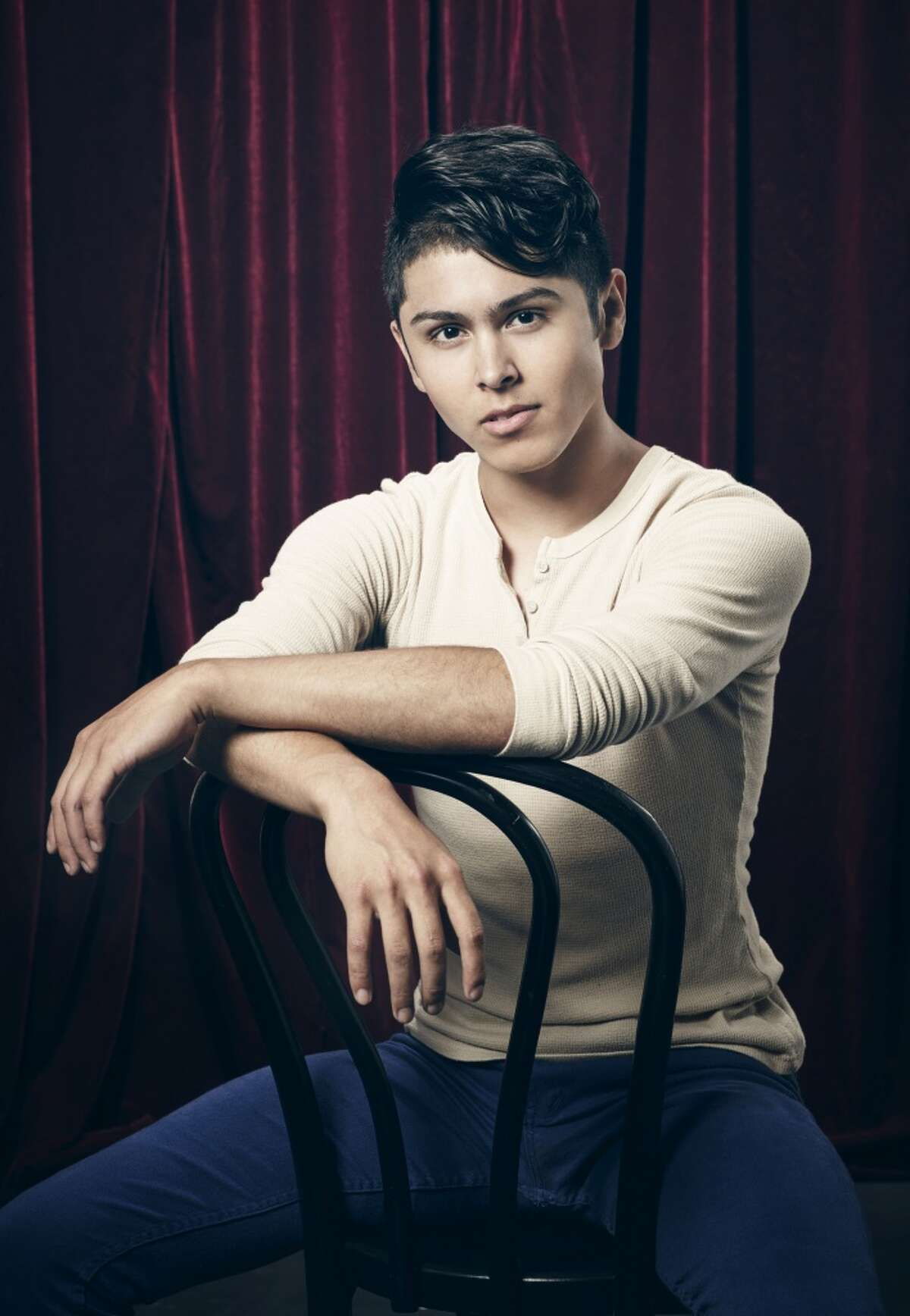 Top 20 contestant Moises Parra (18) is a part of Team Stage on SO YOU THINK YOU CAN DANCE
