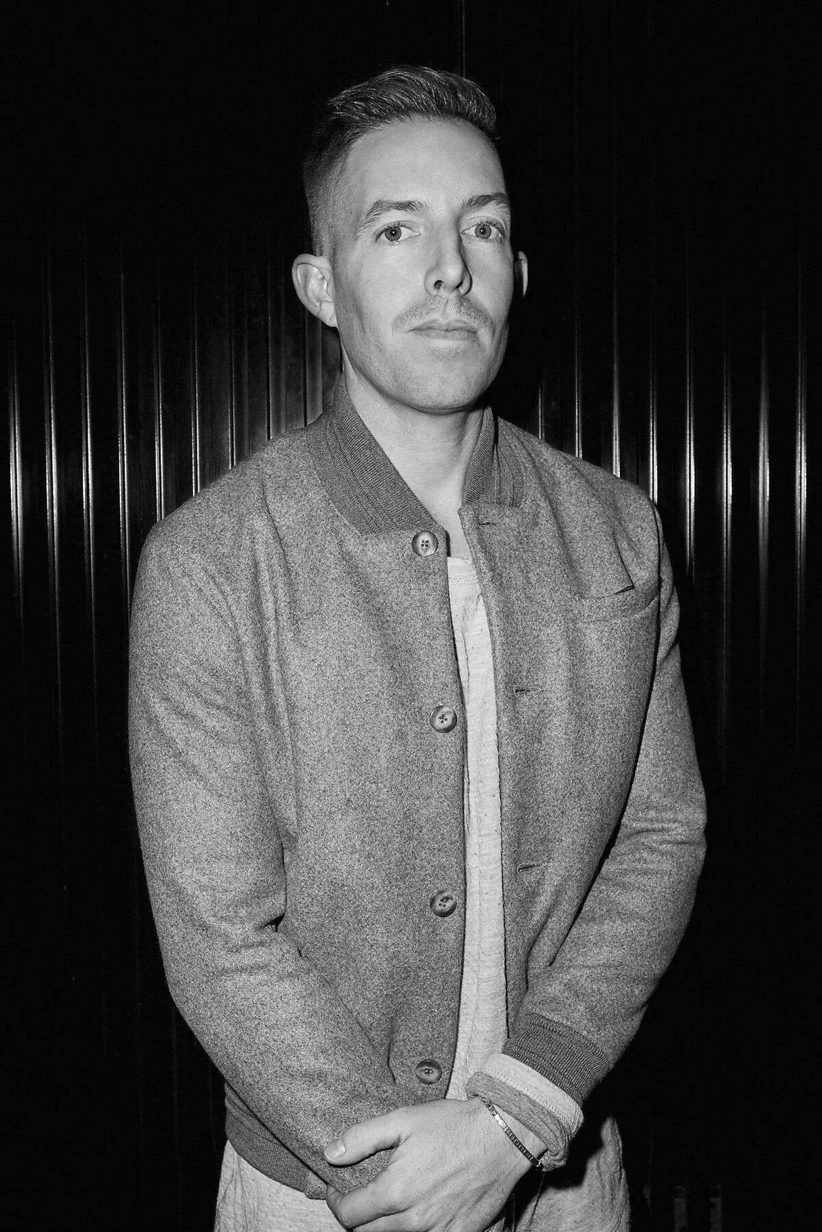 Fashion designer John Elliott