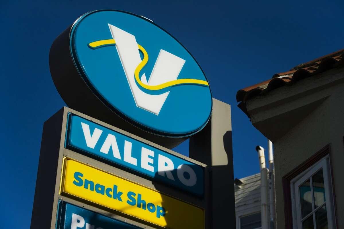 Valero Energy is based in San Antonio.