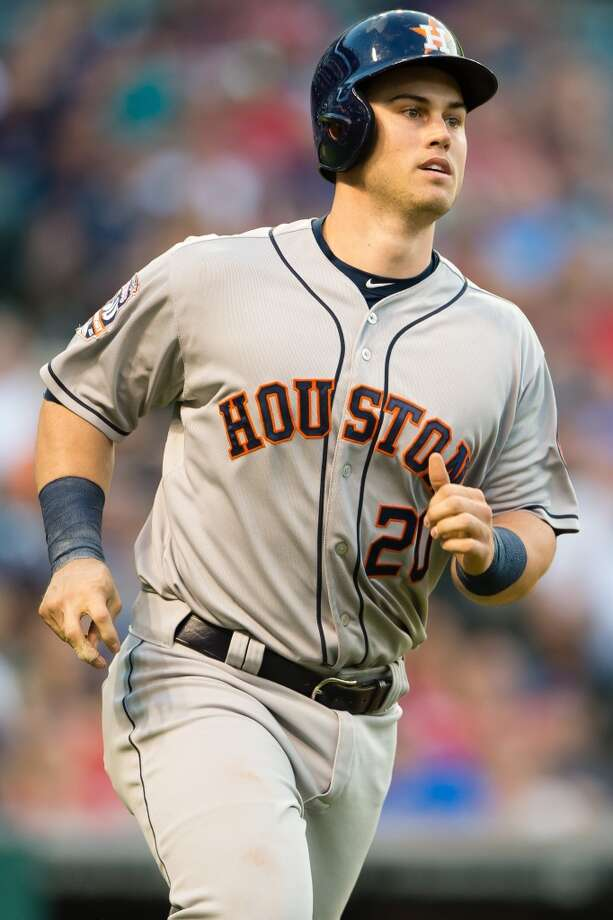 With only a few weeks left in the regular season, it seems probable Preston Tucker's season is over. But Jeff Luhnow said the Astros have not ruled out his return. Photo: Jason Miller, Getty Images