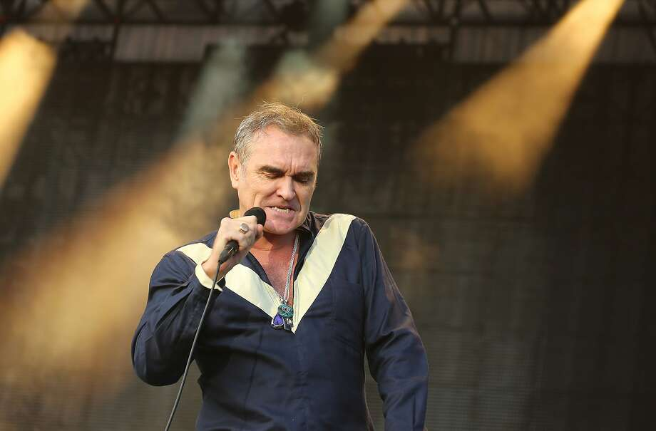 Morrissey Photo: Shaun Tandon, AFP / Getty Images