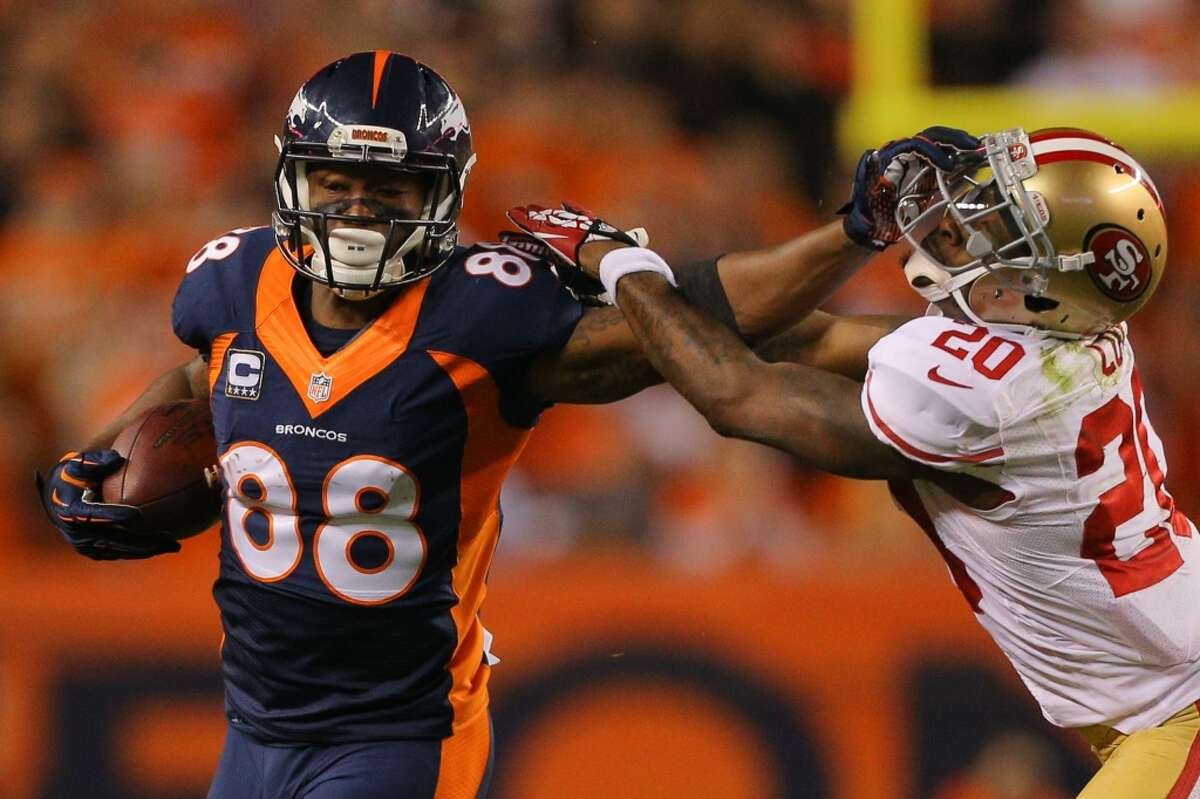 No. 22 Best pick: Demaryius Thomas, WR, Broncos (2010). He blossomed into one of the league's top wideouts, particularly after teaming with Peyton Manning for four years in Denver.