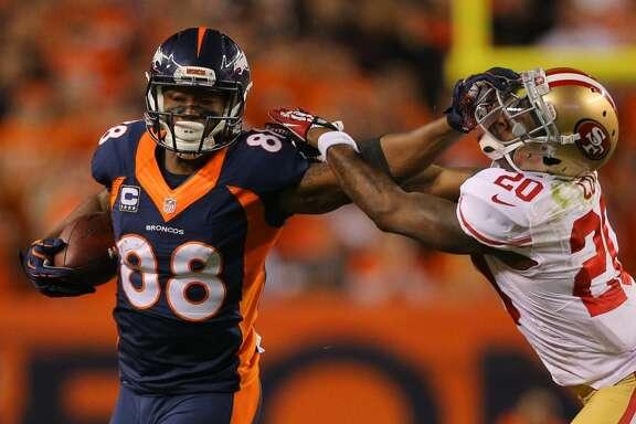 20. Demaryius Thomas, WR, Broncos     Last year's ranking:  49