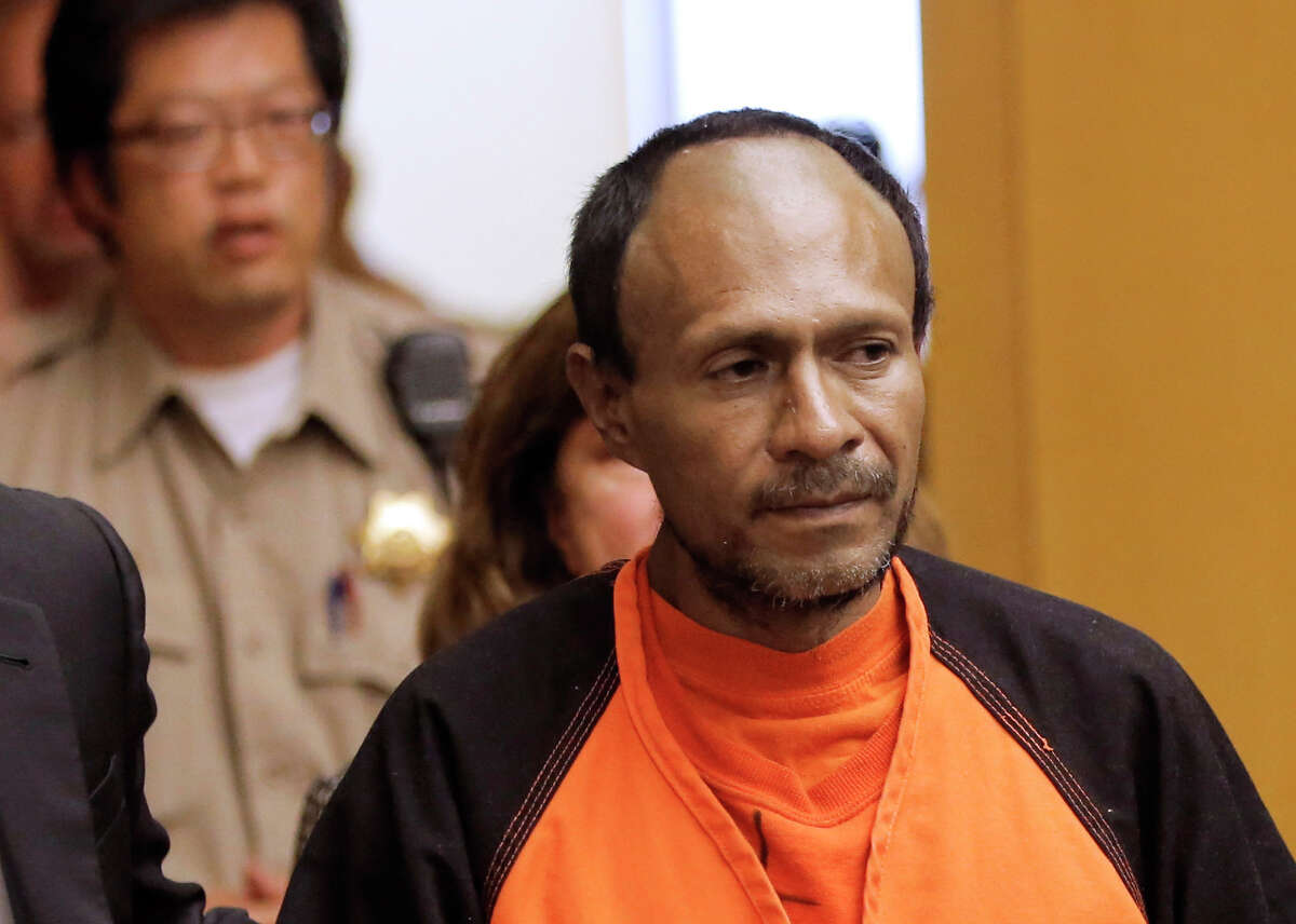 Juan Francisco Lopez-Sanchez is accused of murdering Kathryn Steinle, 32, on July 1.