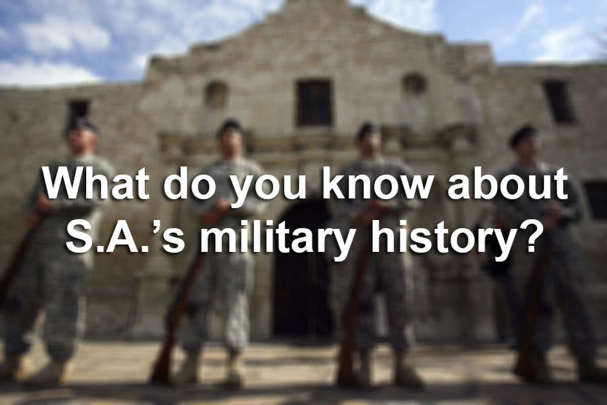 How much do you know about the history of the military in San Antonio? Try your hand at answering these questions.