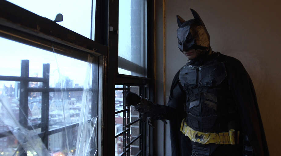 "Mukunda Angulo portrays Batman in a scene from the documentary film, ""The Wolfpack."" Photo: Associated Press / Magnolia Pictures"