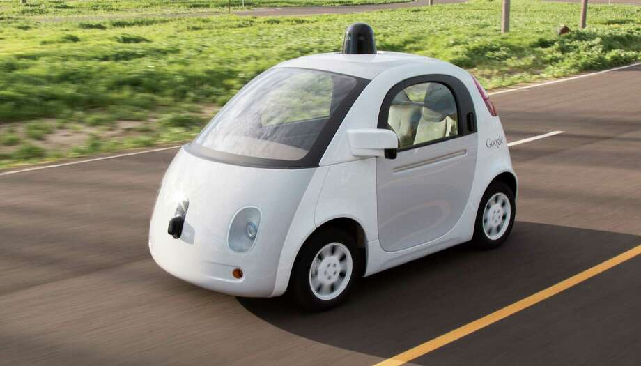 """A picture of Google's self-driving car prototype. Columnist Mark Mathias, however, poses this question about the future of personal transportation: """"But what if self-driving cars isnít the big change? What if not having your own car is the big change?"""" Photo: Contributed Photo / Contributed Photo / Westport News"""