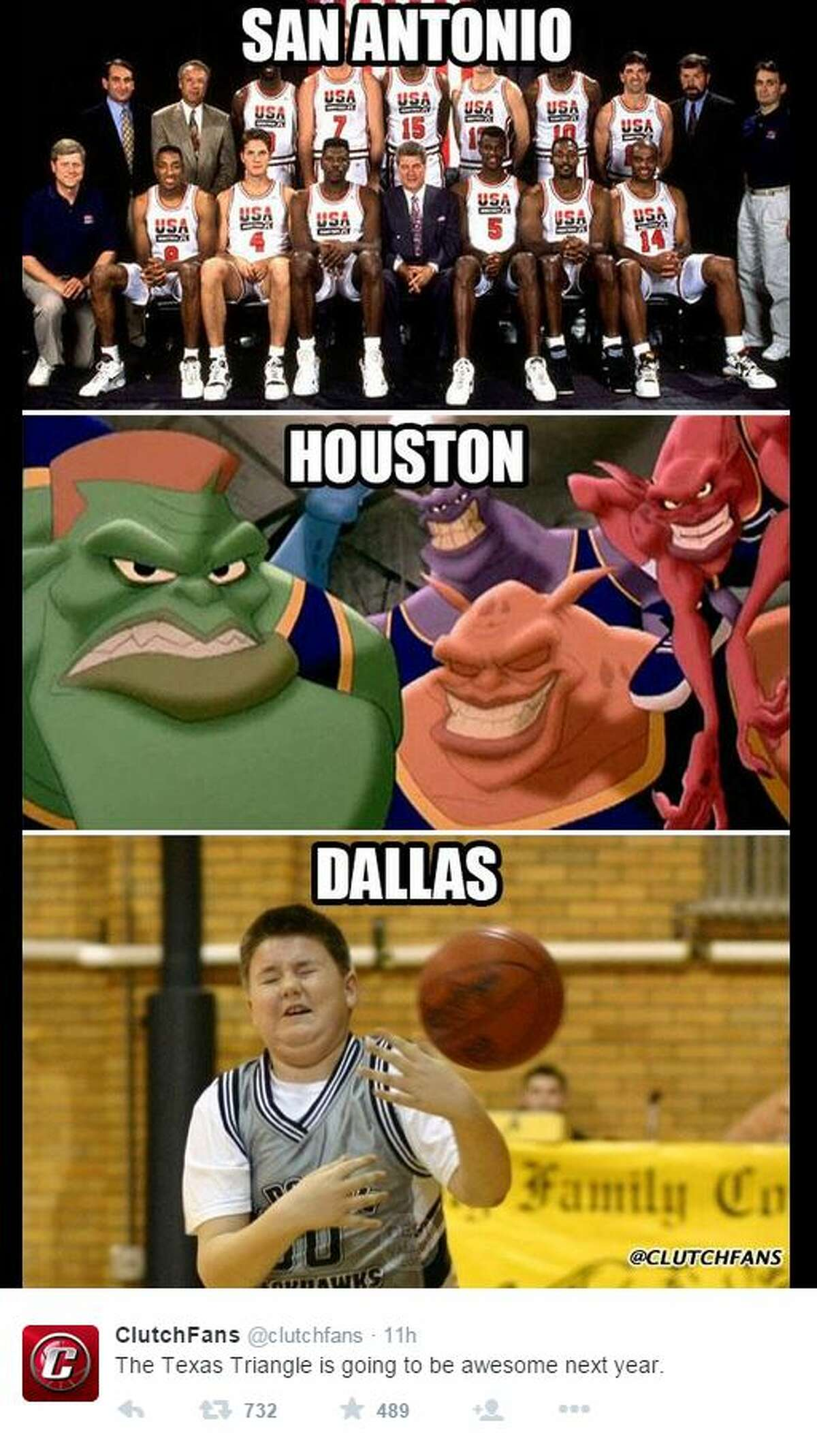 """""""The Texas Triangle is going to be awesome next year. """" - Clutch Fans, @clutchfans"""