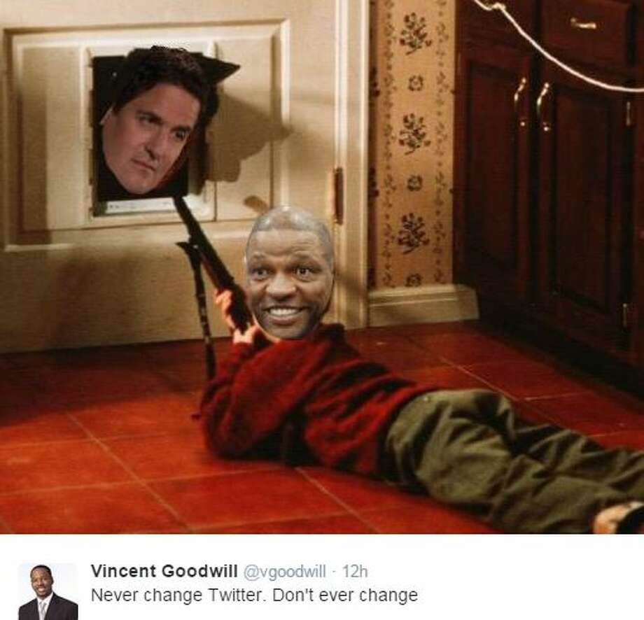 """""""Never change Twitter. Don't ever change"""" - Vincent Goodwill, @vgoodwill Photo: Mendoza, Madalyn S, Twitter.com"""