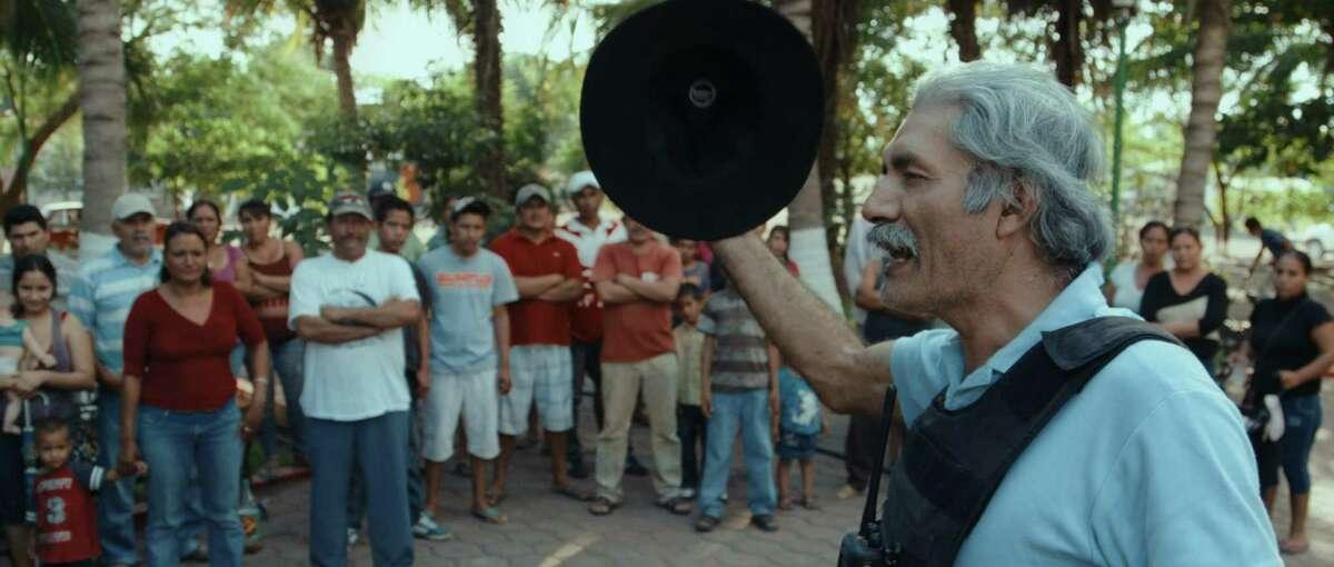 Dr. Jose Mireles (center), in CARTEL LAND, a film by Matthew Heineman