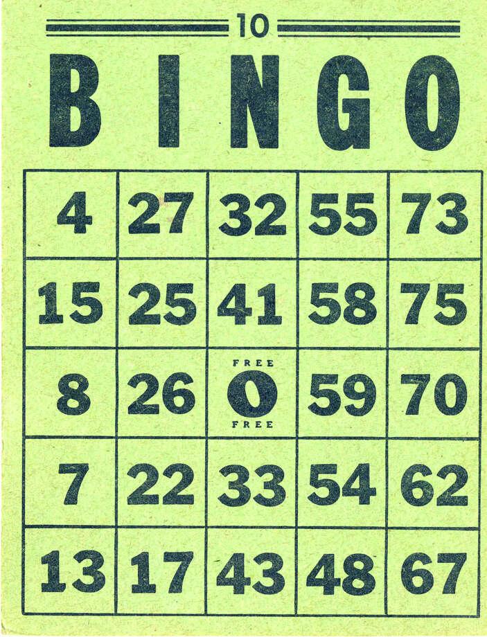 A Bingo card Photo: Wikimedia / ONLINE_YES