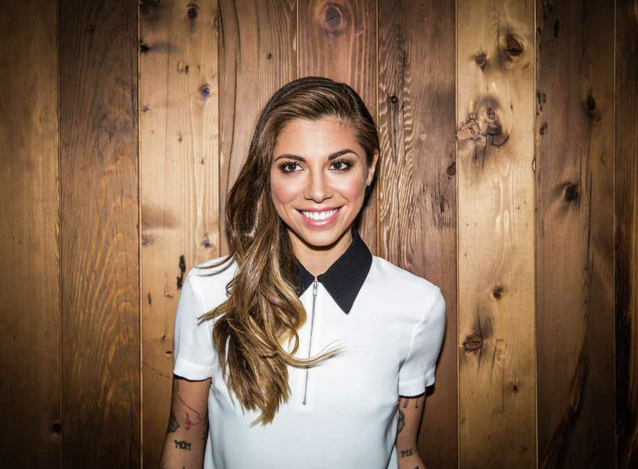 "Christina Perri kicks off her summer tour at Mohegan Sun this weekend. It's called ""The Girls Night Out, Boys Can Come Too Tour,"" and Colbie Caillet will be with her. Photo: Contributed Photo"
