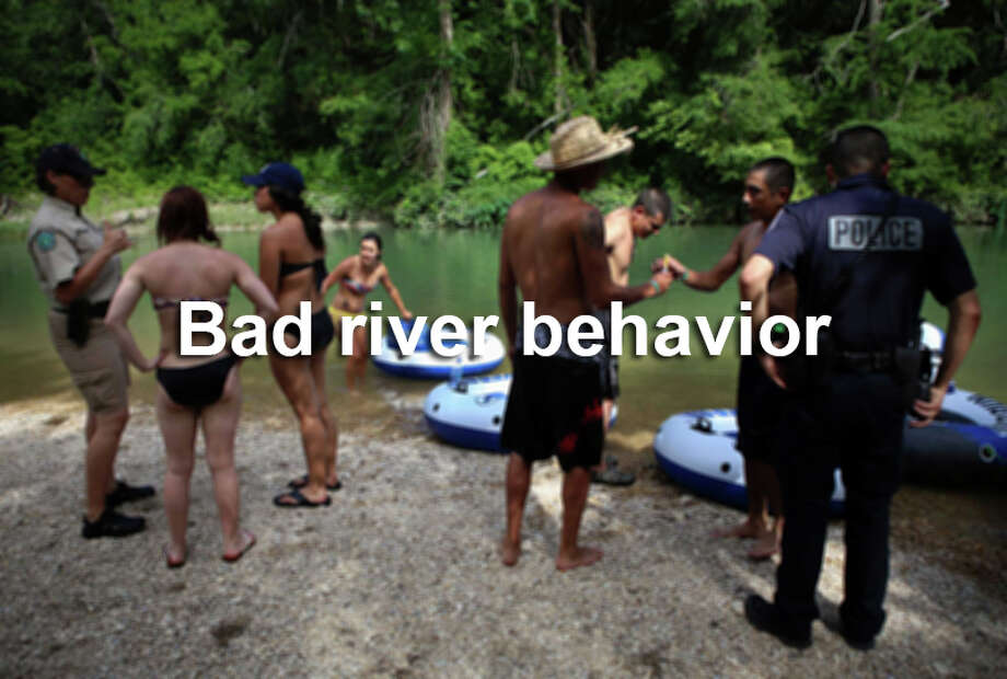 From nakedness to defecation, these are the things you don't want to do while enjoying Texas waterways. Photo: Timothy Tai, SAEN / © 2014 San Antonio Express-News