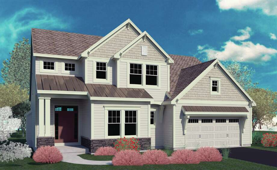 The Exterior of the Chesapeake model at The Mill at Smith Bridge at 21 Saw Mill Way, Saratoga Springs by Belmonte Builders (Courtesy Belmonte Builders)