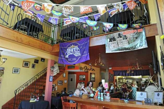 Interior of Cafe Nola on Thursday, July 2, 2015 in Schenectady, N.Y. (Lori Van Buren / Times Union) Photo: Lori Van Buren / 00032452A