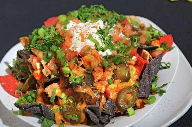 Crawfish nachos at Cafe Nola on Thursday, July 2, 2015 in Schenectady, N.Y. (Lori Van Buren / Times Union) Photo: Lori Van Buren / 00032452A