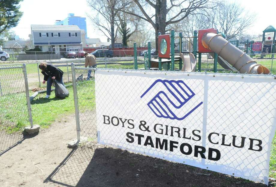 The Stamford Boys & Girls club on Stillwater Avenue. Photo: Bob Luckey / Bob Luckey / Greenwich Time