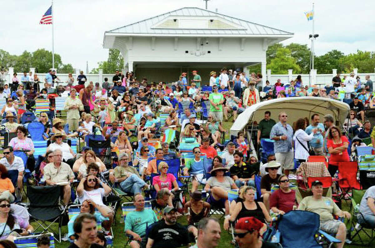 Photo from last year's Blues, Views and BBQ Festival at the Levitt Pavillion.