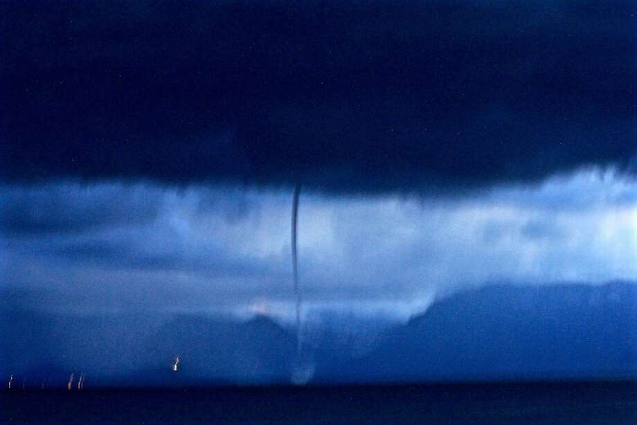 Brewmaster captures rare water spout on Lake Tahoe - SFGate