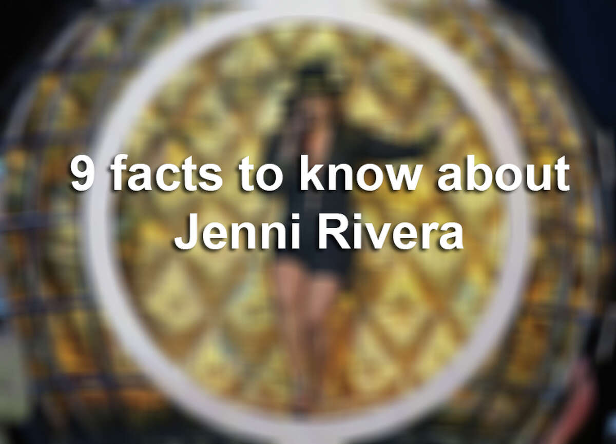 Nine things to know about Jenni Rivera.