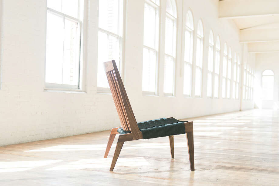 Phloem Studio's Swift chair is fabricated with traditional woodworking techniques, such as exposed mortise-and-tenon joints. Polyester rope forms the seat. Its available in domestic hardwoods, with rope options in black, gray or navy. Pricing available on request, phloemstudio.com. Photo: Courtesy Phloem Studio / THE WASHINGTON POST