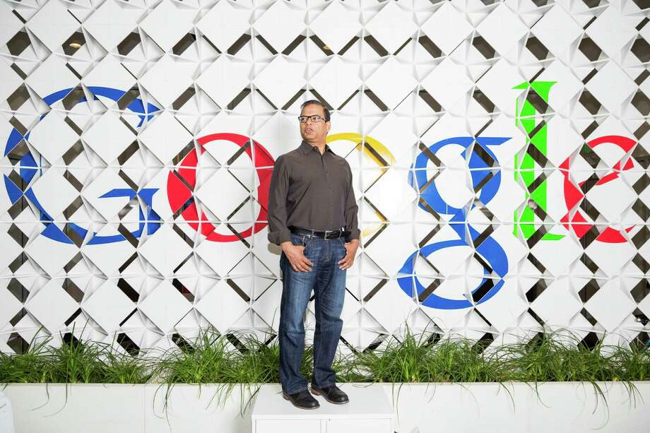 Amit Singhal, Google's search chief who oversees the 200 or so factors that determine where websites rank in the company's search engine, at Google's offices in Mountain View, Calif., July 8, 2015. Singhal's current challenge is figuring out how to spread influence to mobile phones with the same ranking system, as it has become as essential on smartphones as it is on desktops. (Jason Henry/The New York Times) ORG XMIT: XNYT58 Photo: JASON HENRY / NYTNS
