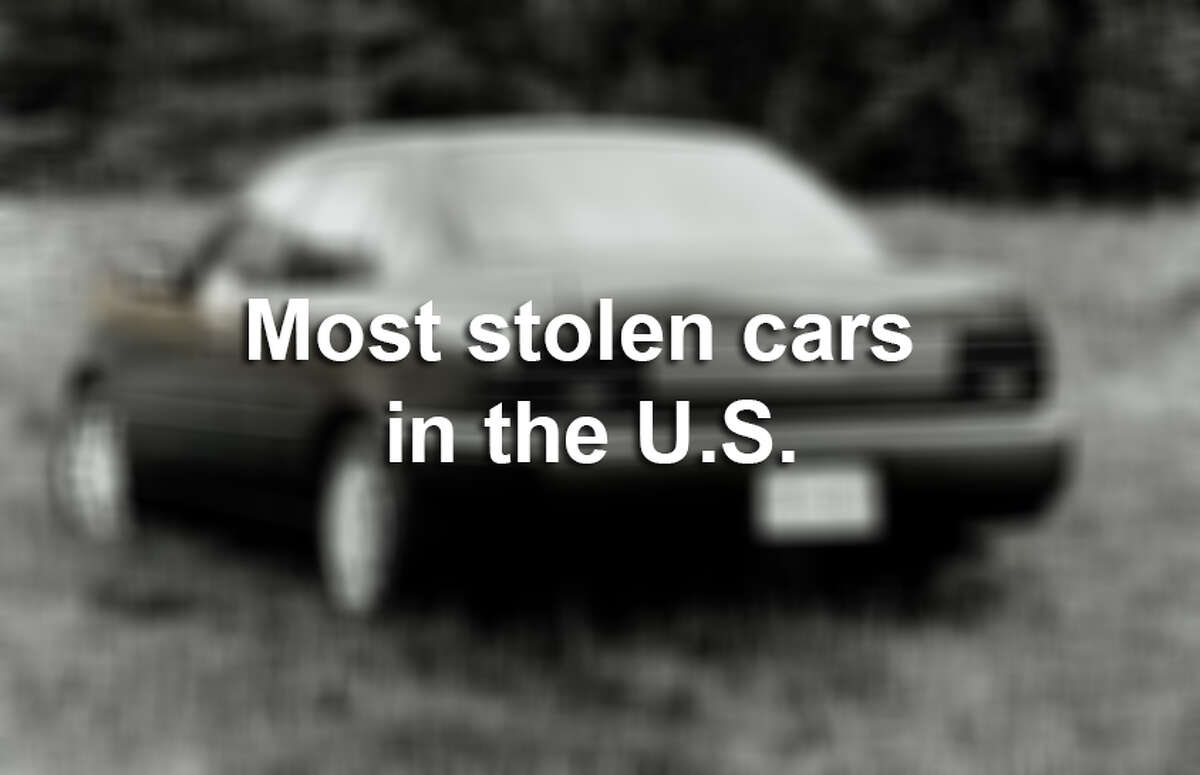 Most stolen cars in America.