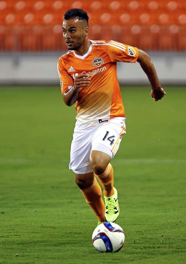 Midfielder Alex, who joined the Dynamo from the Chicago Fire in April, is looking forward to more playing time. Photo: James Nielsen, Staff / © 2015  Houston Chronicle