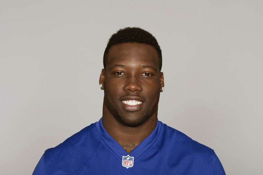 This is a 2014 photo of Jason Pierre-Paul of the New York Giants NFL football team. This image reflects the New York Giants active roster as of Monday, June 23, 2014 when this image was taken. (AP Photo) Photo: Uncredited, FRE / AP2014