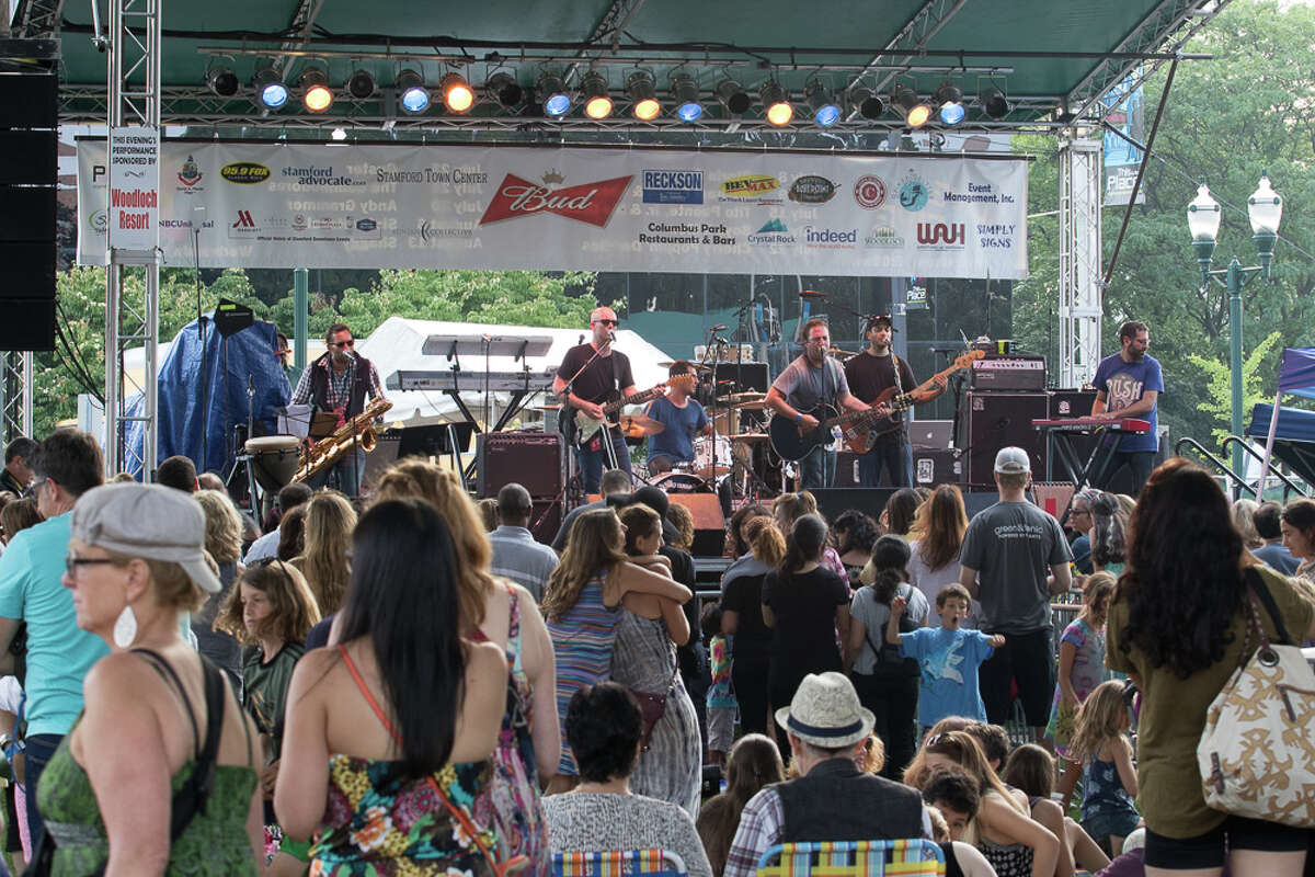 Stamford's annual Alive@Five concert series kicked off July 9, 2015 with a performance by Michael Franti and Spearhead. Were you SEEN?