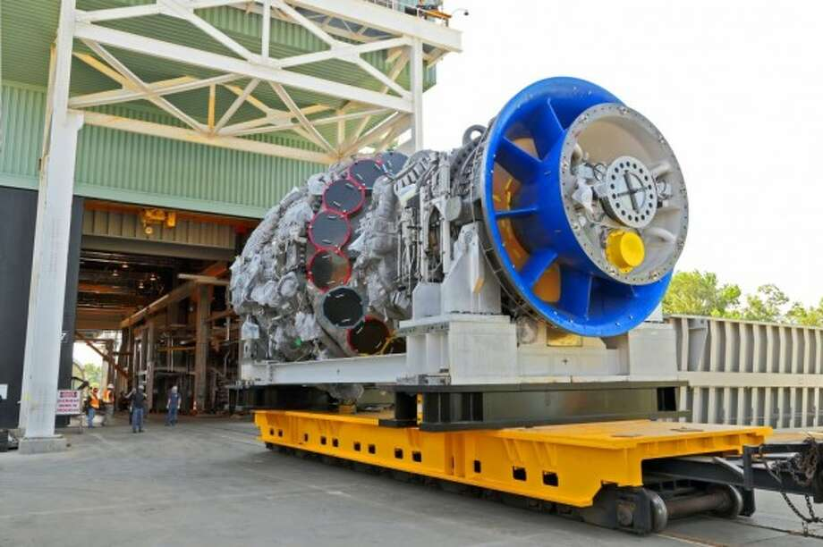 Exelon will use GE gas turbines, like the one pictured above, in its Texas plants.