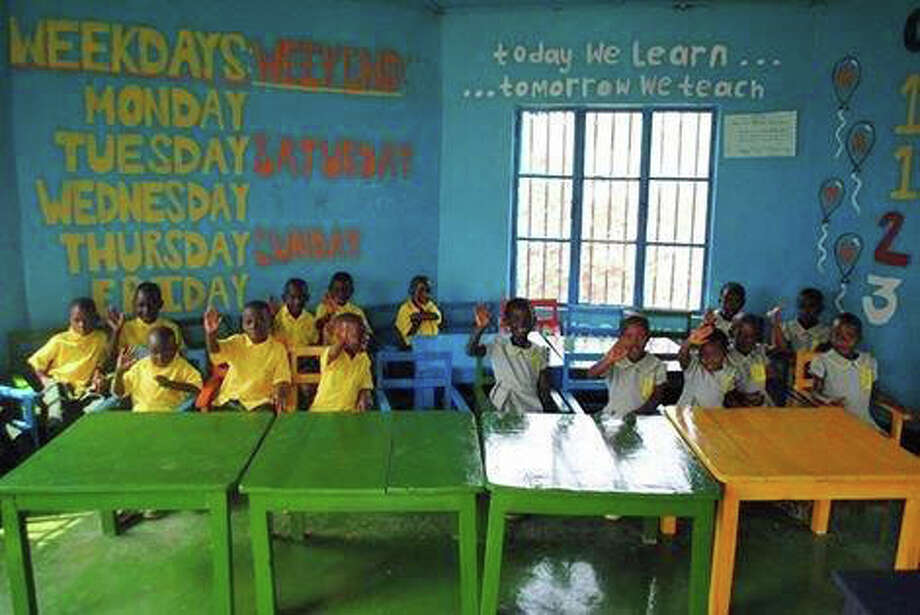 Students at the Blessing School in Rwanda Photo: Contributed Photo / Greenwich Time Contributed