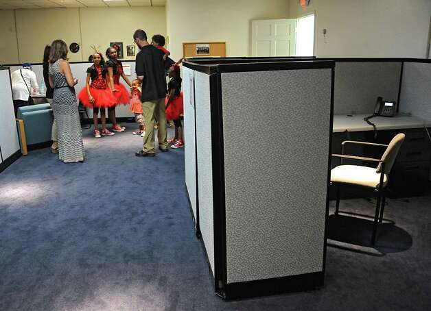Interior of the new Youth Opportunity Office at 382 Clinton Ave on Thursday, July 9, 2015 in Albany, N.Y. A sidewalk fair was held to celebrate the opening. (Lori Van Buren / Times Union) Photo: Lori Van Buren / 00032556A