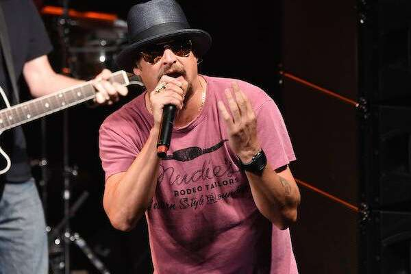 NEW YORK, NY - MAY 05:  Kid Rock performs onstage as Live Nation Celebrates National Concert Day At Their 2015 Summer Spotlight Event Presented By Hilton at Irving Plaza on May 5, 2015 in New York City.  (Photo by Jamie McCarthy/Getty Images for Live Nation)