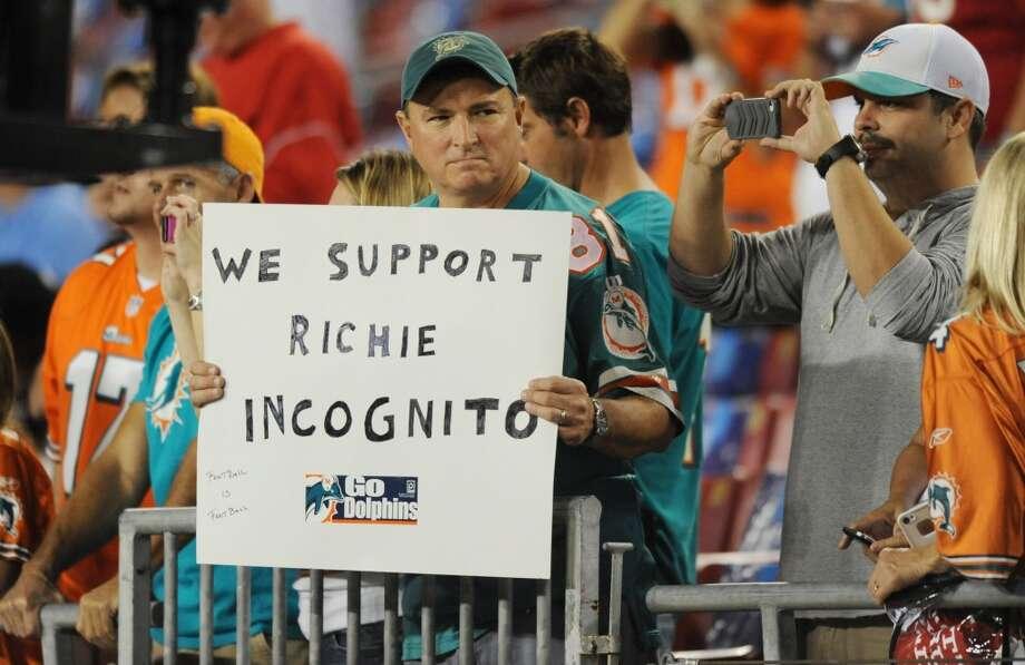 32. Miami Dolphins Photo: Jim Rassol, McClatchy-Tribune News Service