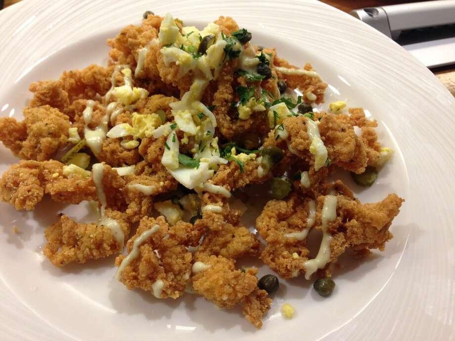 Fried calamari at Saltair Seafood Kitchen, 3029 Kirby. (Photo: Greg Morago)