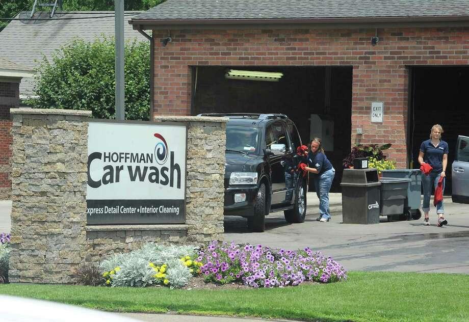 hoffman 39 s car wash caught in credit data hack times union. Black Bedroom Furniture Sets. Home Design Ideas
