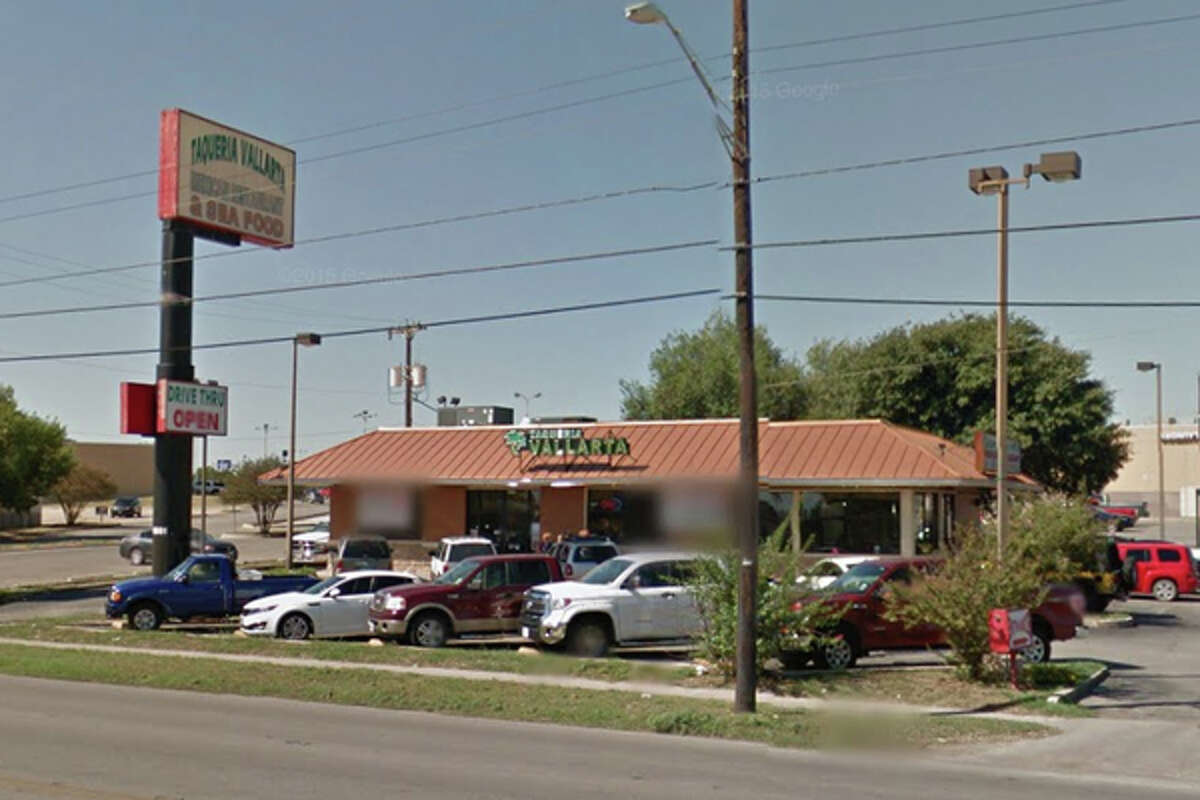 Taqueria Vallarta #7: 6881 W. Military Drive, San Antonio, Texas 78227Date: 04/21/2016 Demerits: 15Highlights: Condensation from walk in cooler was dripping into menudo, sewage backup seen in basement, inspector observed employee touch ready to eat food items with bare hands, employee medicine stored near food area