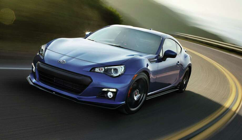 Weighing as little as 2,764 pounds, with a low center of gravity, double-wishbone rear suspension and a Torsen limited-slip differential, the Subaru BRZ can handle the curves. Photo: Subaru