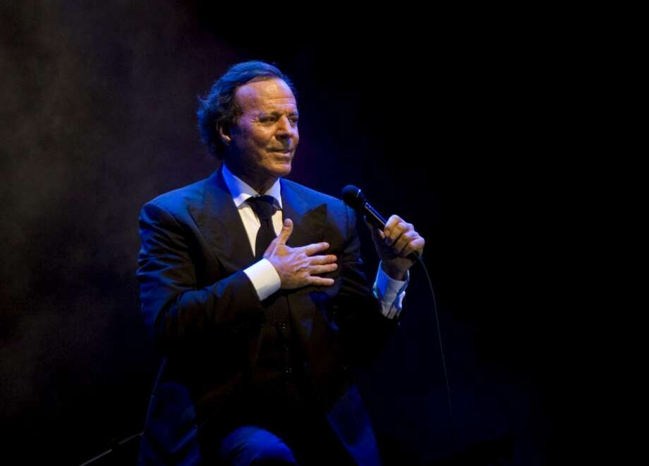 Julio Iglesias released his first album 50 years ago.  >>See the hottest acts coming to Houston 2019 in the photos that follow... Photo: Israel Leal, AP