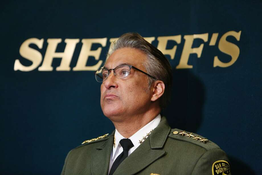 Sheriff Ross Mirkarimi speaks during a press conference at San Francisco City Hall on Friday, July 10, 2015 in San Francisco, Calif. Photo: Lea Suzuki, The Chronicle