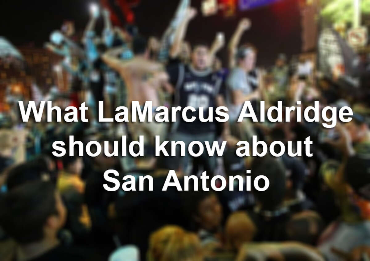 Here are 19 things the new Spurs should know about his new home.