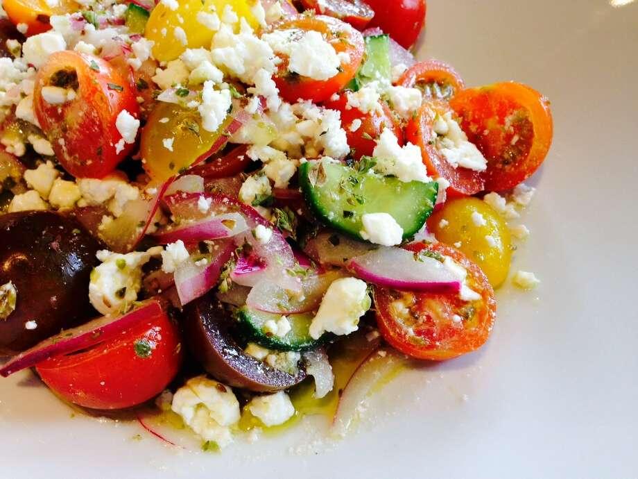 Greek salad at Helen Greek Food and Wine, 2429 Rice Blvd. (Photo: Greg Morago)