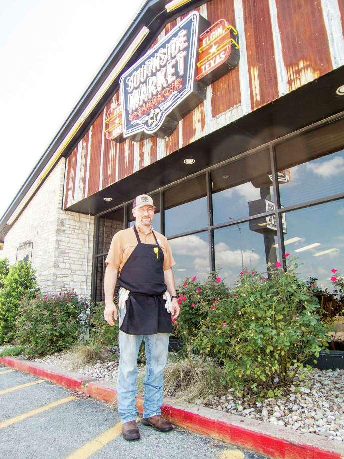 Bryan Bracewell is the third-generation owner of Southside Market in Elgin. Photo: J.C. Reid / ONLINE_YES
