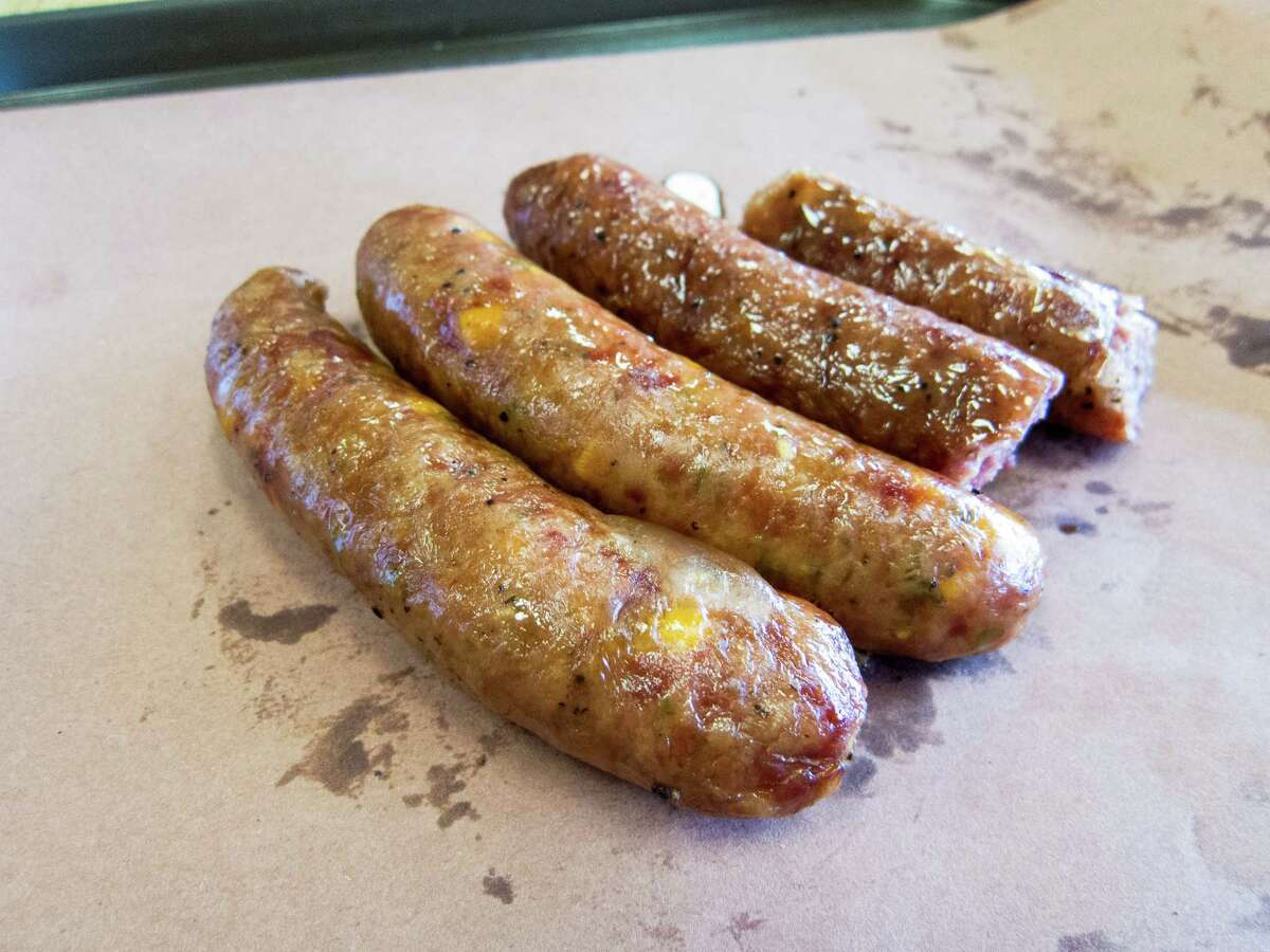 Southside Market just off Highway 290 in Elgin is known for its hot sausage.