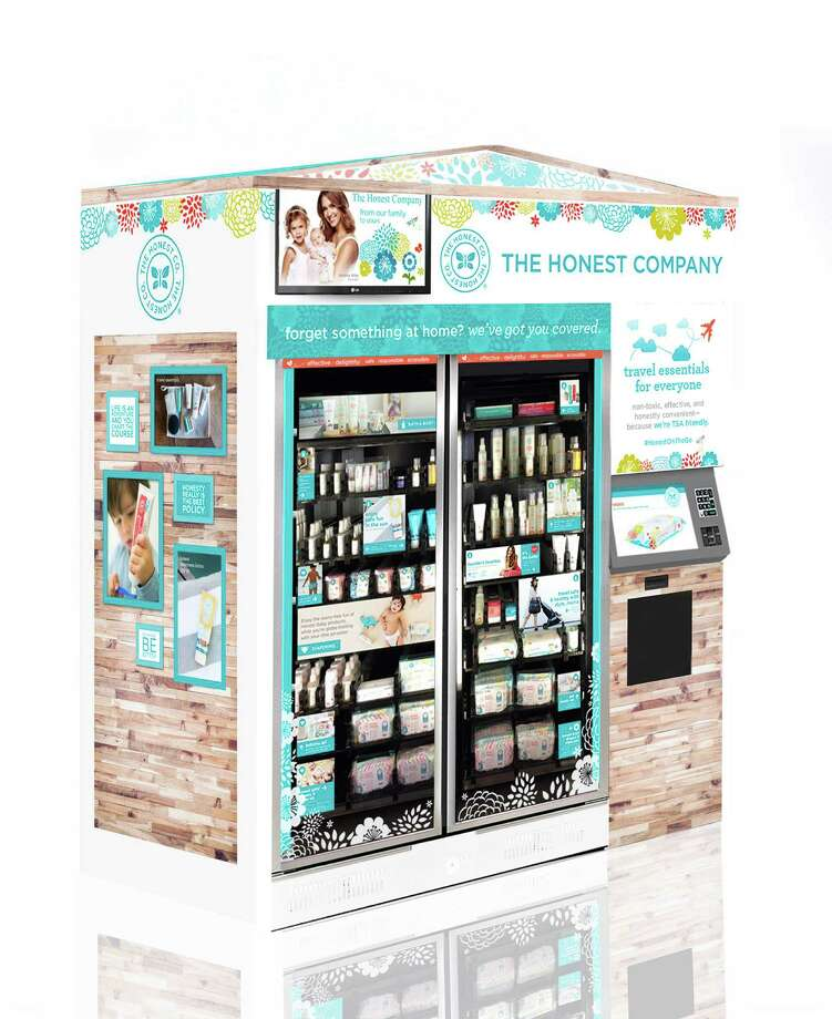 BEAUTY: Honest Company, co-founded by actress Jessica Alba, debuts a new kiosk of beauty and grooming products at IAH. Photo: Honest Company / ONLINE_YES
