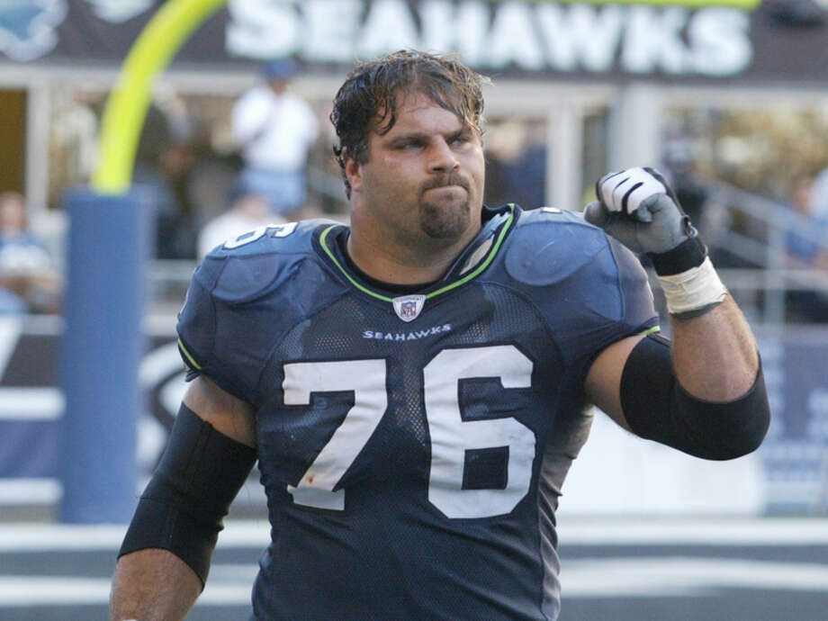 Class of 2020 - Steve Hutchinson Hutchinson was the second addition from the Seahawks' 2005 Super Bowl team. The guard played from 2001 to 2005 for Seattle. Photo: Scott Eklund, Seattle P-I